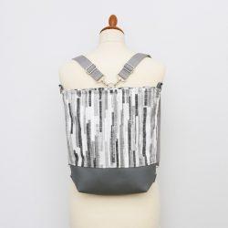 Isla 3in1 fekete-fehér csíkos táska