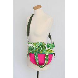 Ramona 3in1 pink-zöld leveles táska