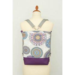 Heidi 3in1 lila mandalás táska
