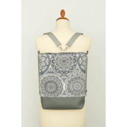 Connie 3in1 sötétszürke mandalás táska