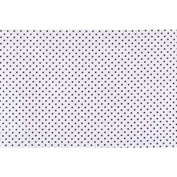 D 351 fehér alapon fekete pöttyös 5 mm