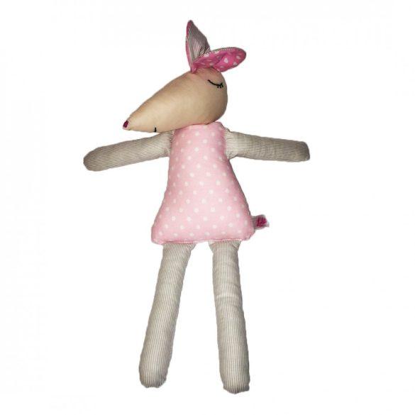 Suzy rózsaszín egér figura