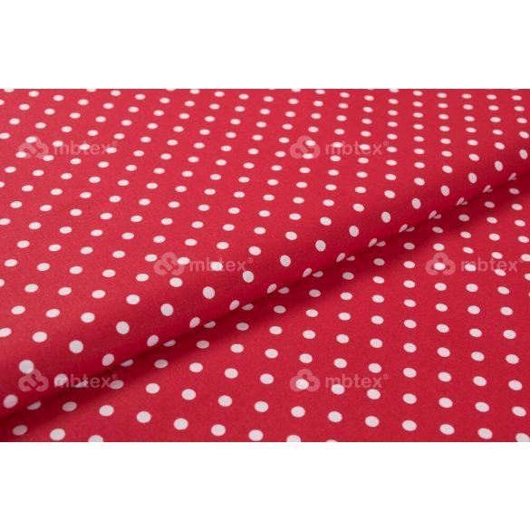 D 173 piros alapon fehér pöttyös 5 mm