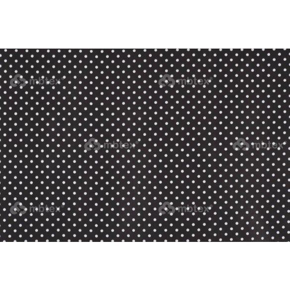 D 345 fekete alapon fehér pöttyös 5 mm
