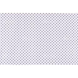 D 352 fehér alapon sötétkék pöttyös 5 mm