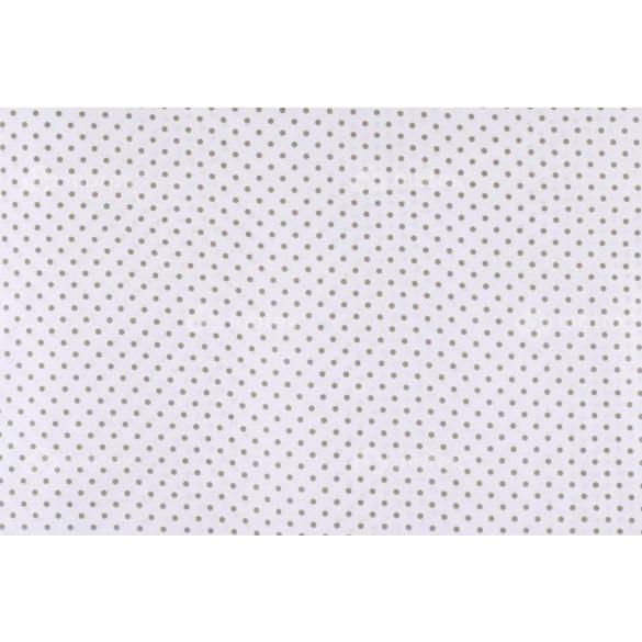 D 355 fehér alapon szürke pöttyös 5 mm