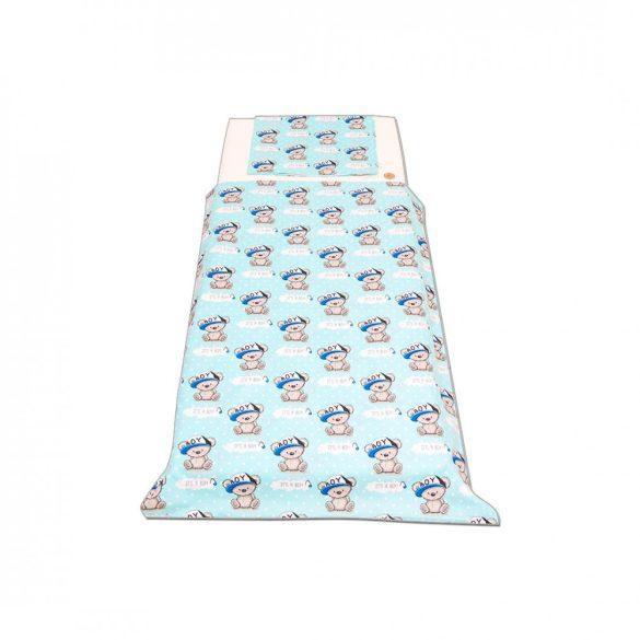 Türkizkék koalás ágynemű szett kisgyermeknek