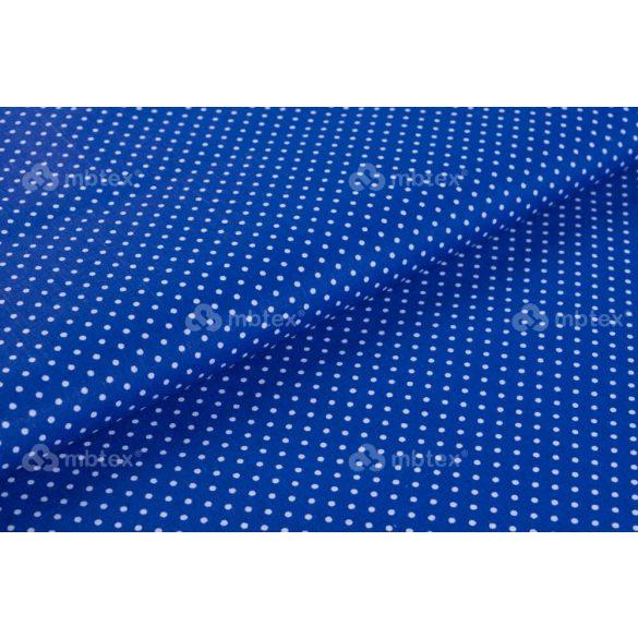 D 443 kék alapon fehér pöttyös 2 mm