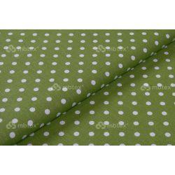 D 475 zöld alapon fehér pöttyös 5 mm