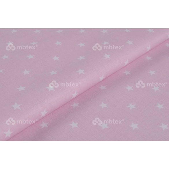 D 331 rózsaszín alapon fehér csillagos