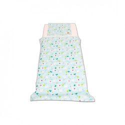 Mentazöld lámás ágyneműszett kisgyermeknek