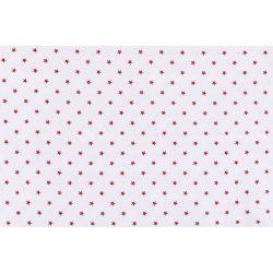 D 338 fehér alapon piros csillagos