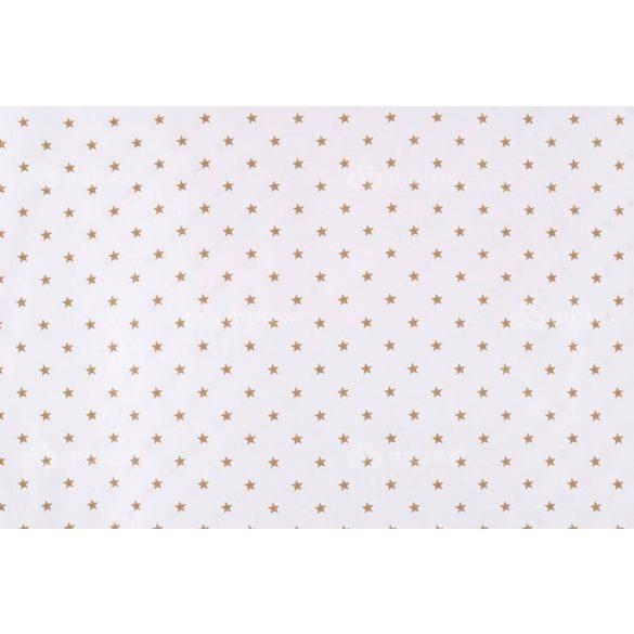 D 339 fehér alapon bézs csillagos