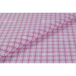 D 407 rózsaszín csillagos négyzet