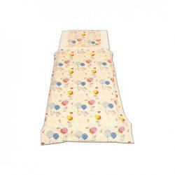 Ecrü nyuszis ágyneműszett kisgyermeknek