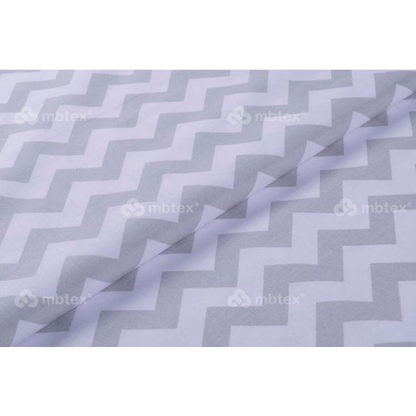 D 425 szürke-fehér chevron mintás