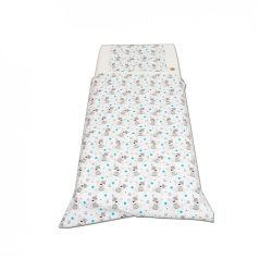 Fehér macis csillagos ágyneműszett kisgyermeknek