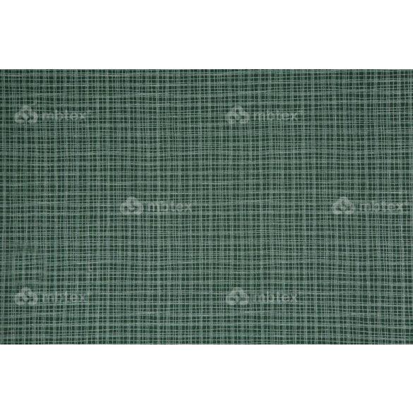 D 160 sötétzöld négyzetrácsos mintás