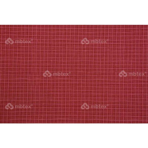 D 166 piros négyzetrácsos mintás