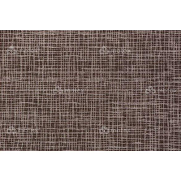 D 167 barna négyzetrácsos mintás