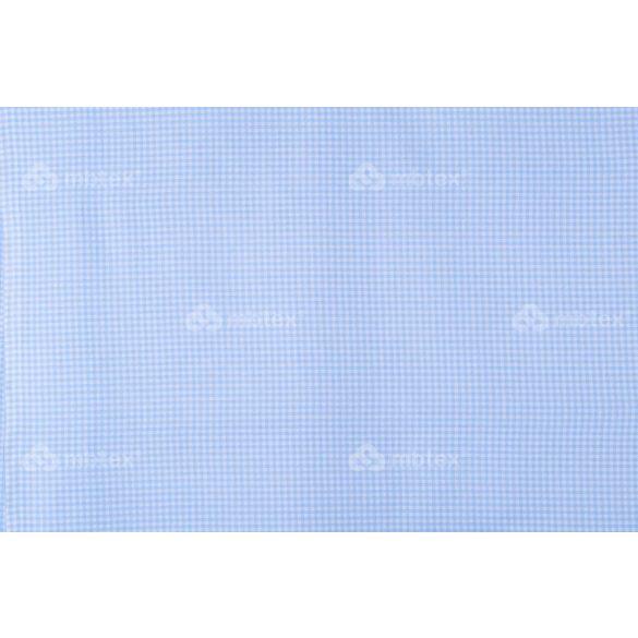 D 265 világoskék 3mm kockás mintás