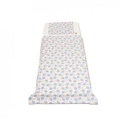 Fehér szürke sünis ágyneműhuzat kisgyermeknek