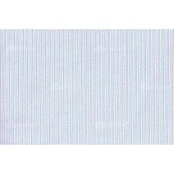 D 194 kék csíkos és pöttyös mintás