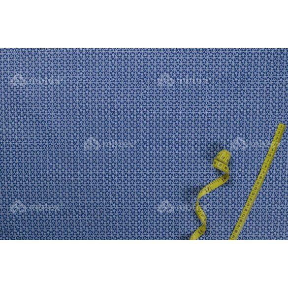 D 126 kék virágos 2 mintás