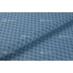 D 132 kék mozaik mintás