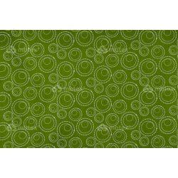 D 274 zöld buborékos mintás