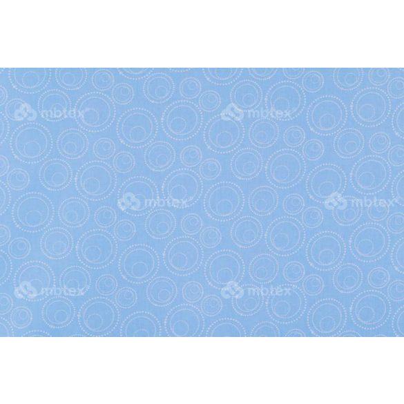 C 277 kék buborékos mintás