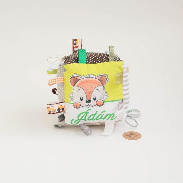 Ádám neves címkekocka