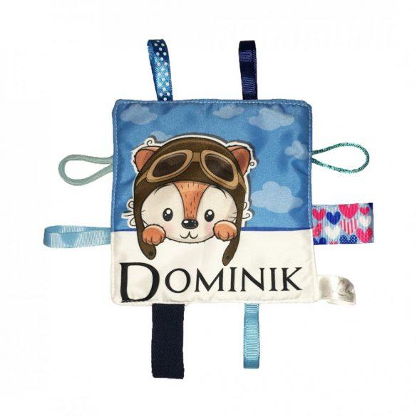 Dominik neves címkerongyi