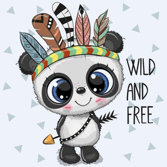 Indián panda 2 minta