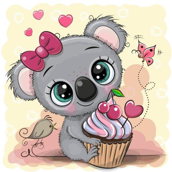 Koala lány 1 minta