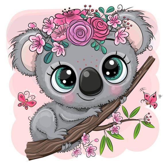 Koala lány 2 minta