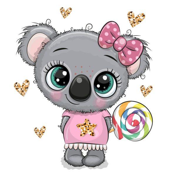 Koala lány 3 minta