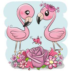 Flamingó 1 minta