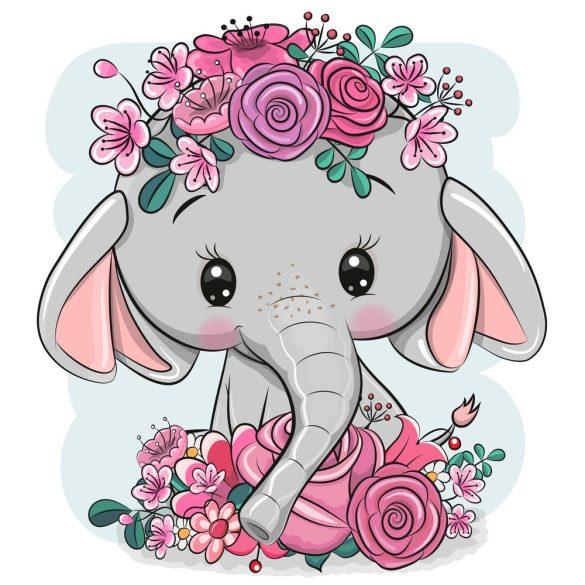 Elefánt lány 2 minta