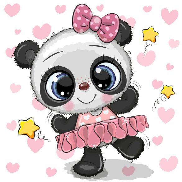 Panda lány 1 minta