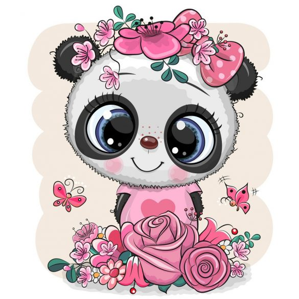 Panda lány 3 minta