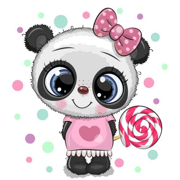 Panda lány 4 minta