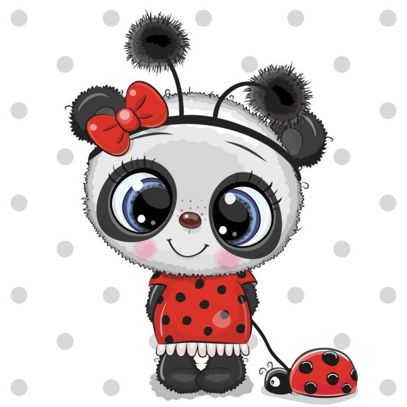 Panda lány 5 minta