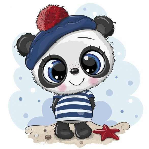 Panda fiú 5 minta