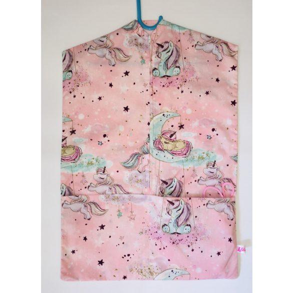 Pink unikornisos ovis zsák és tornazsák szett