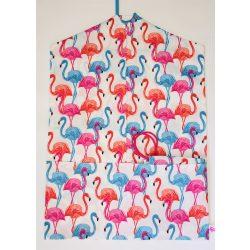 Színes flamingós ovis zsák és tornazsák szett