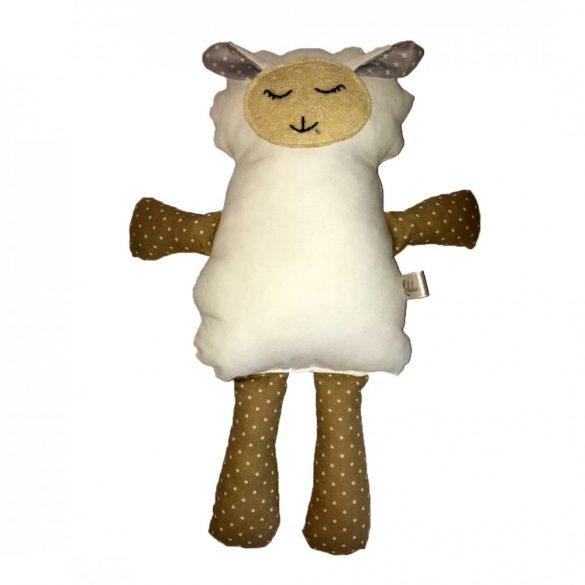 Sleepy fehér bárány figura