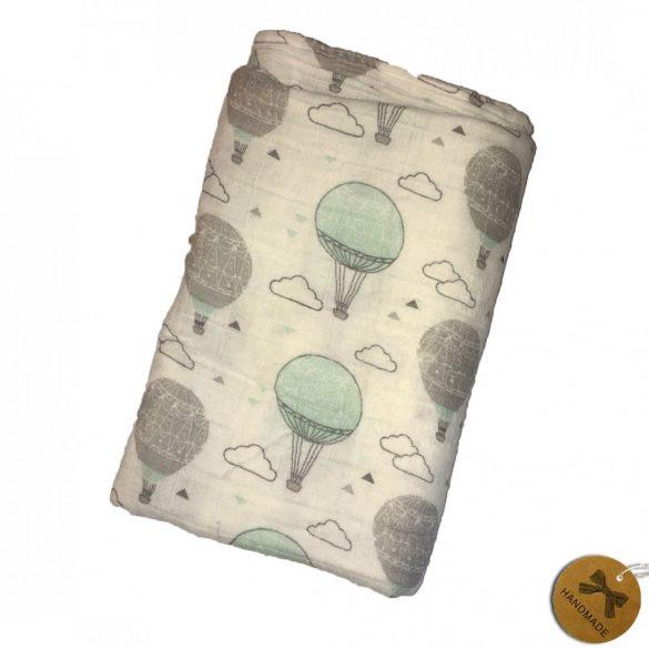 Hőlégballonos gauze takaró