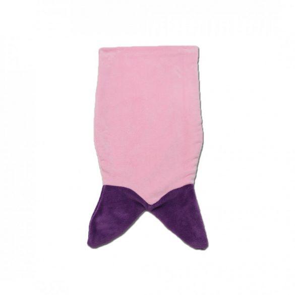 Rózsaszín-lila sellő lábzsák
