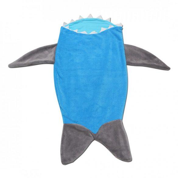 Kék-szürke cápás lábzsák